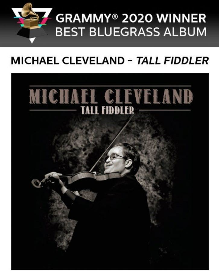 "`<img alt=""Michael Cleveland Playing Fiddle on album cover""`>"