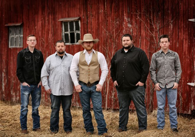 "`<img alt=""Picture of the Band The Caleb Daugherty Band, 5 men in this band""`>"