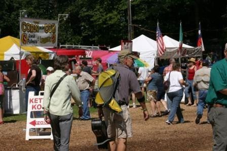 Marketplace at the August Festival